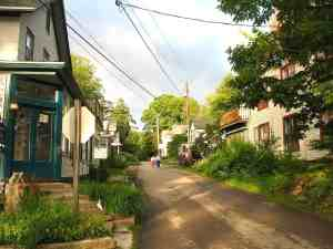 Lily Dale, New York at dawn