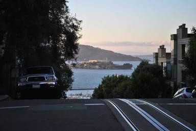 Alcatraz as seen from San Francisco