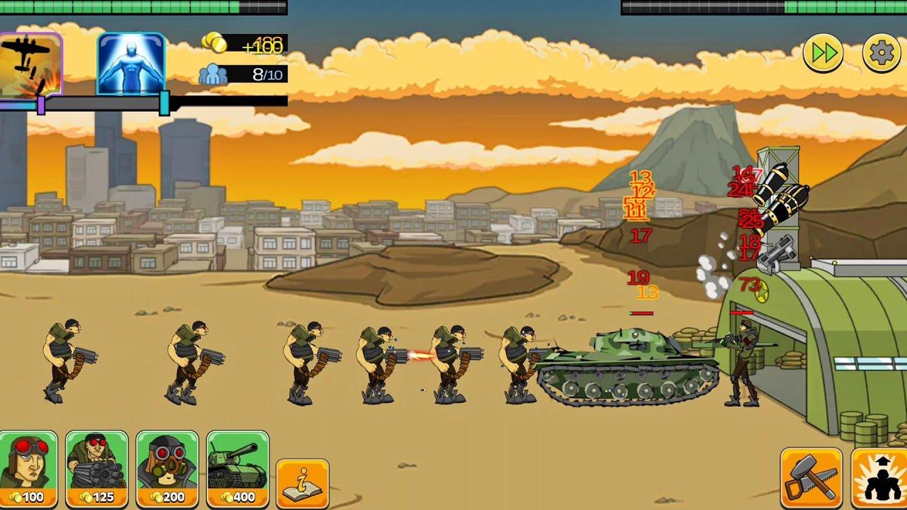 Скачать игру Age of War 2 с читами на Андроид и мод много денег