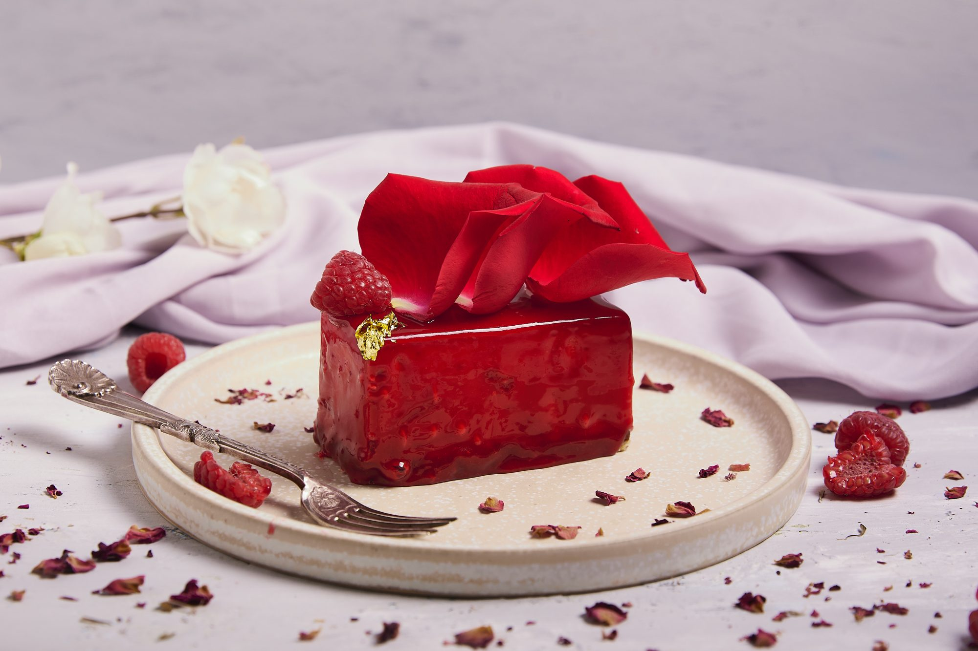 raspberry hazelnut delice