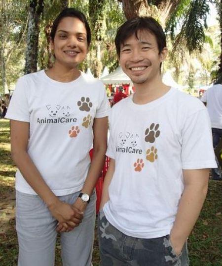 Nandhini and Terry
