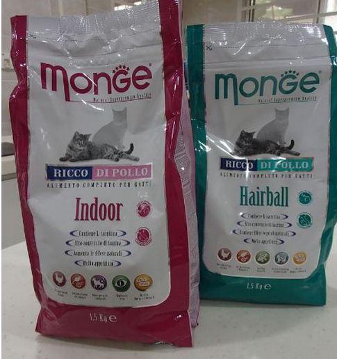 monge kibbles for cats