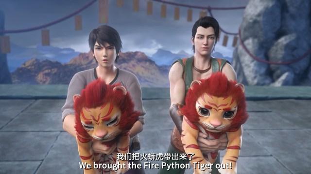 Wu Dong Qian Kun - Martial Universe ( chinese anime donghua ) season 1 episode 03 english sub