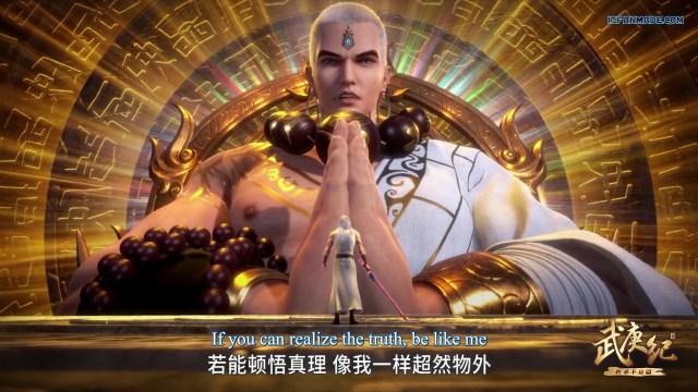 Wu Geng Ji - The Legend and the Hero (chinese anime) Season 3 Episode 33 english sub