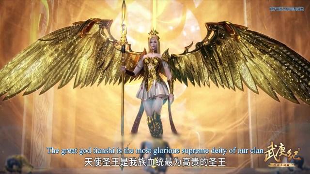 Wu Geng Ji - The Legend and the Hero (chinese anime) Season 3 Episode 34 english sub