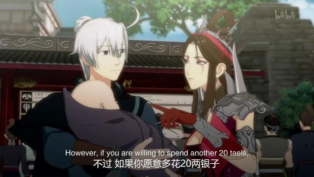 Jian Wang San Xia Gan Yi Dan Shen Jianxin - JX3 Chivalrous Hero Shen Jianxin ( chinese anime donghua ) Season 1 episode 10 english sub