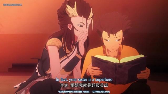 Shen Qi Huan Qi Tan - The Legend of Ancient Soul ( chinese anime donghua ) episode 19 english sub