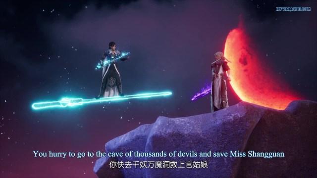 Liu Xing Huan Jian - Meteor Magic Sword (chinese anime donghua 2021 ) season 1 episode 12 english sub