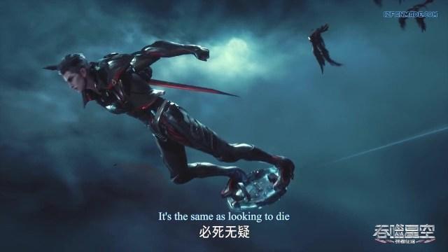 Tunshi Xingkong - Swallowed Star ( chinese anime donghua 2020 ) episode 17 english sub