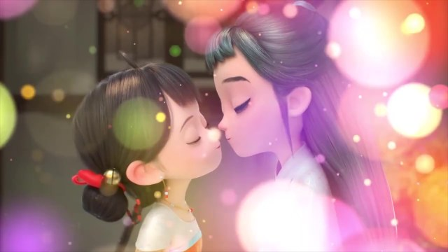 Little Bell and Ami's Love Story ( chinese anime donghua ) #01 english sub (9)