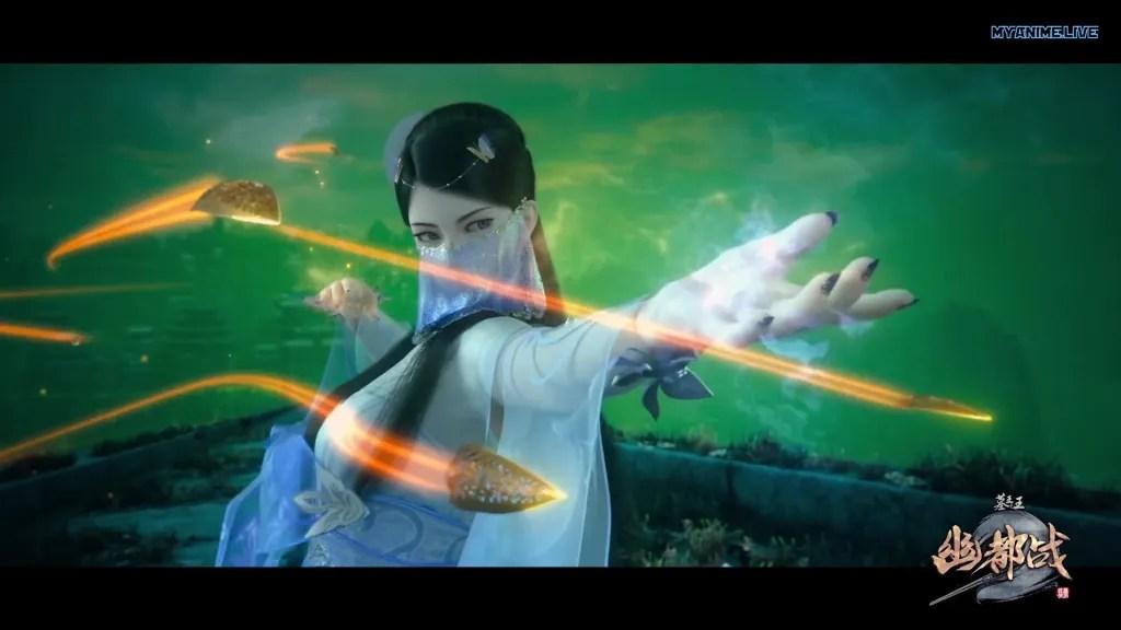 Mu Wang Zhi Wang You Du Zhan - Great King of the Grave Season 4 episode 19 ( episode 80 ) english sub
