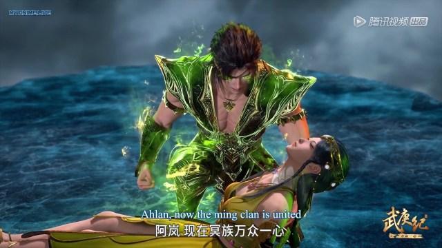 Wu Geng Ji 4th season episode 12 ( episode 126 ) english sub