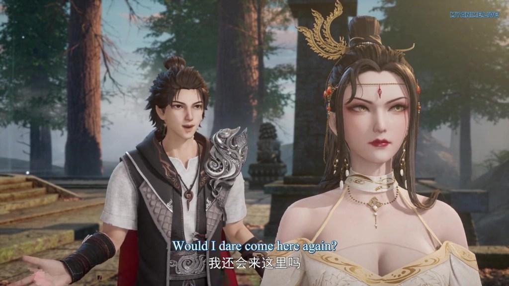 Wan Jie Shen Zhu - Lord of The Universe episode 171 english sub