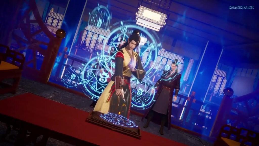 Wu shen zhu zai - Martial Master episode 168 english sub