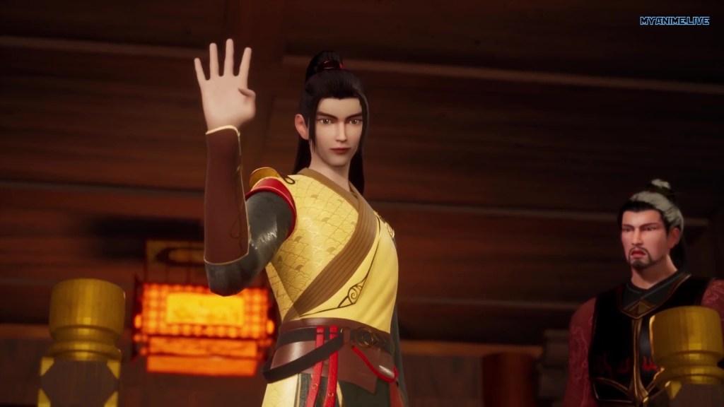 Wu shen zhu zai - Martial Master episode 169 english sub