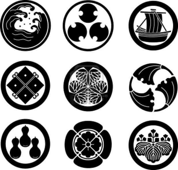 anime peace symbols samurai