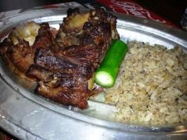 Pöç with rice