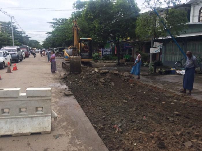 建設現場道路工事