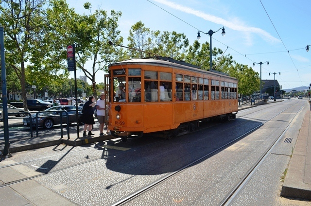 20. San Francisco ေရာက္မွဘဲ ၊ Cable Car / Tram ကို ပံုစံမ်ိဳးစံု ေတြ႕ရေတာ႕တယ္ 1 ။