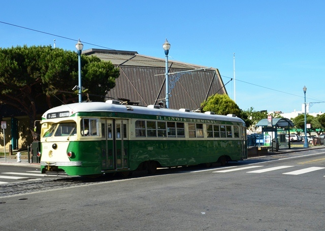 20. San Francisco ေရာက္မွဘဲ ၊ Cable Car / Tram ကို ပံုစံမ်ိဳးစံု ေတြ႕ရေတာ႕တယ္ 2 ။