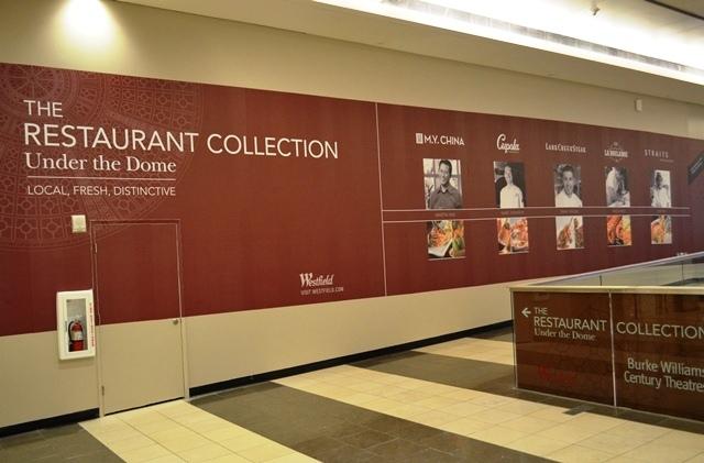 20. West Field က Restaurant Collection ဆိုၿပီးကို ေသခ်ာ ၫႊန္းထားသဗ် ။