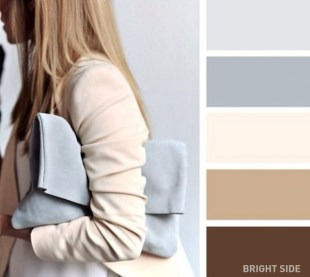 Beige and grey