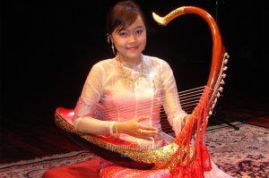Myanmar Traditional Harp