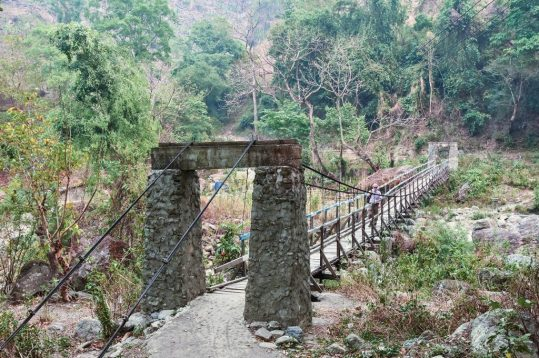 Bridge to Bontalar Water Fall