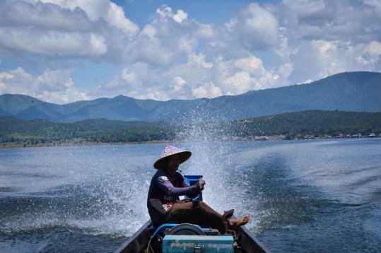 Motorized Boat of Inle Lake