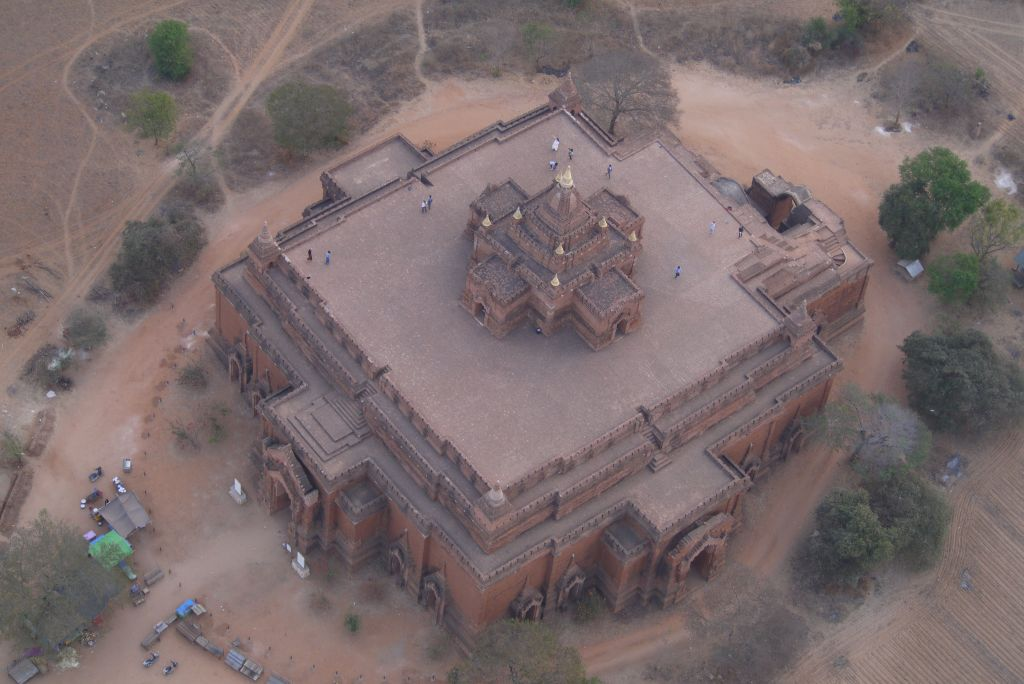Bagan Temple from above