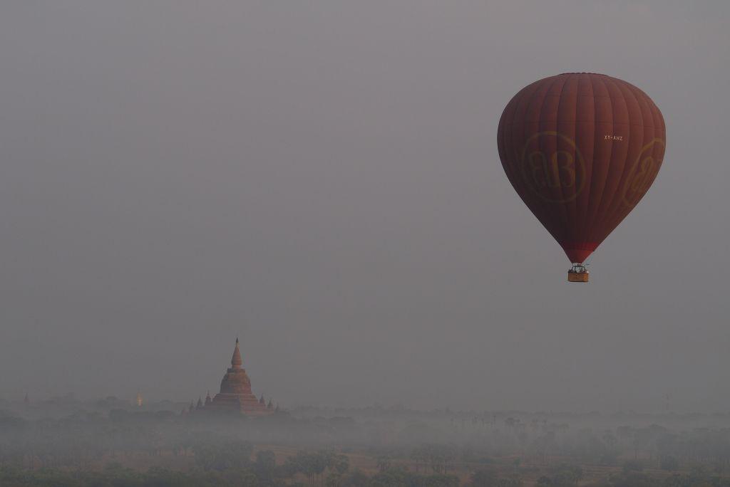 Balloons and Pagodas Bagan