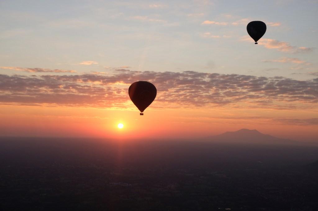 Sunset Hot Air Balloon Bagan