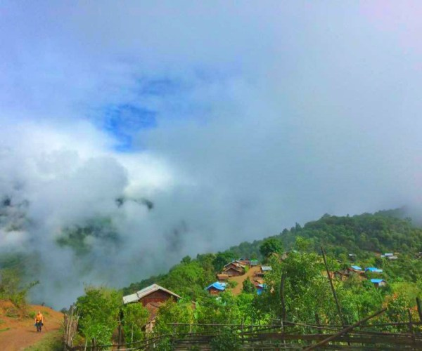 Cloudy day in Chin State
