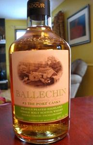 Ballechin #3, Port Cask