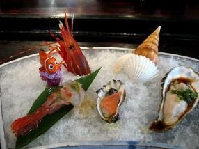Shellfish trio. Nemo is not eaten.