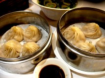 Xiao Long Bao. Very good soup dumplings that put even the better versions at dim sum houses in proper perspective.