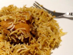 Biryani Close-up
