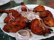 Cafe Linger Longer--tandoori chicken