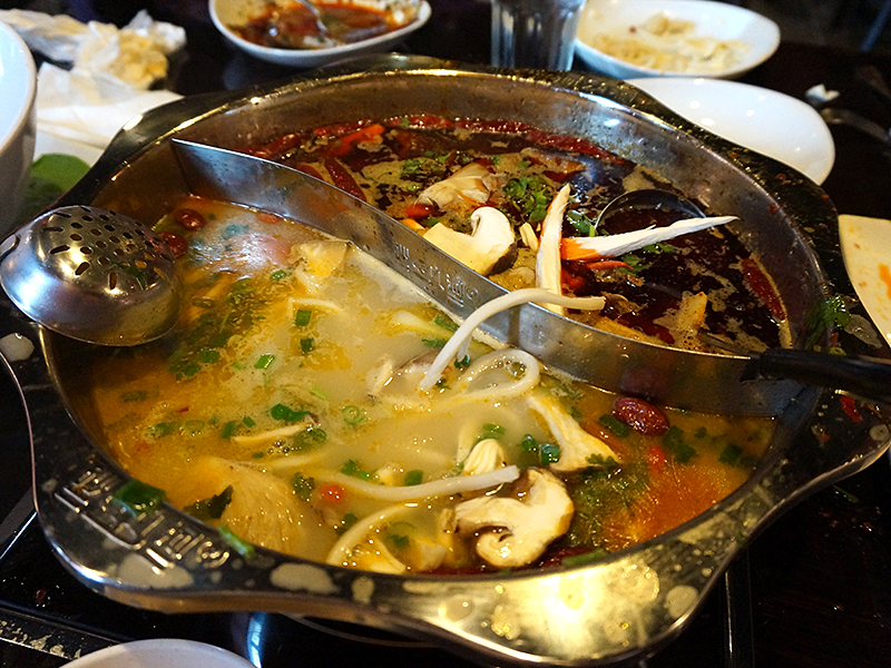 Little Szechuan, Hot Pot: On the go