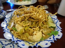 Supatra Thai: Khao Soy with Chicken
