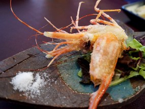 Kiyokawa: Deep Fried Prawn Head
