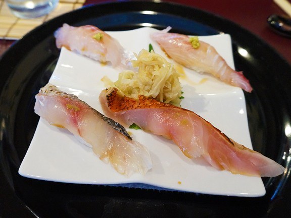Kiyokawa: Sea Bass and Snapper Trio