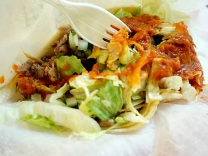 And a lengua (tongue) taco