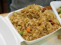 Pretty good fried rice, also from Nyob Zoo Kitchen.