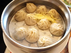 """Pretty good """"soup dumplings"""". Much better than the ones at Din Tai Fung, at any rate."""
