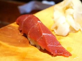 First up, immaculate tuna.