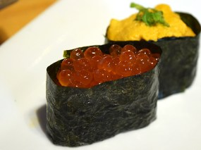 That was also true of the ikura/salmon roe.