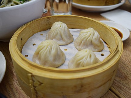 And one more order of perfect XLB before leaving for Babylon.