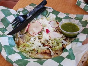 Their sopes and huaraches are really very good.