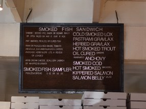 And this one lists some of their smoked fish options.